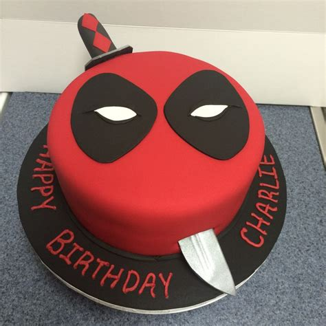 deadpool cake ideas deadpool themed cakes