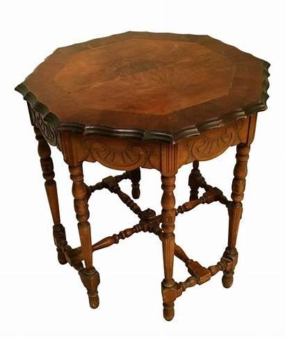 Table Antique Side Octagonal Eight Leg Chairish