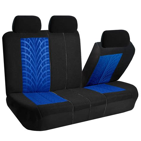 Bench Seat Covers For Cars by Car Seat Covers For Auto Split Bench Airbag Blue Ebay