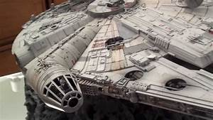 Gy Lighting Millennium Falcon Fine Molds 1 72 Scale Model Youtube