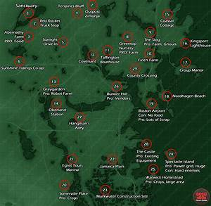 Fallout 4 Explorable Map Size Finally Detailed 382