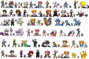 Pokemon Universe Sprites by LeeHatake93 on DeviantArt