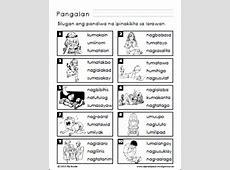 pandiwa worksheet Samutsamot