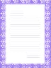 Free Printable Lined Stationery Templates
