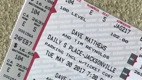 couple duped  fake   dave matthews concert