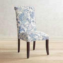 angela indigo floral dining chair pier 1 imports