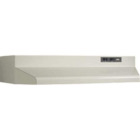 Broan Cabinet Range 36 by Broan 403608 Almond 160 Cfm 36 Inch Wide Cabinet