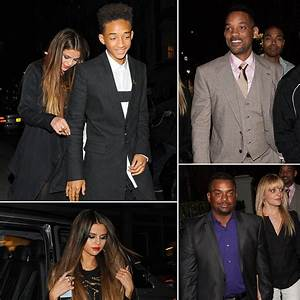 Selena Gomez With Jaden Smith and Will Smith | Photos ...