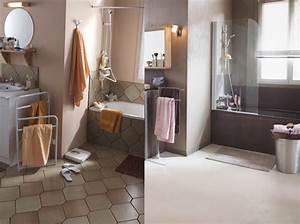 relooker une salle de bain relooking salle de bains nos With repeindre le carrelage d une salle de bain