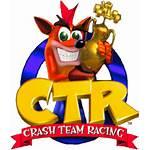 Team Crash Racing Pc Ctr Games Logos