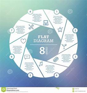 Business Concept  Circle Puzzle Infographic  Template For Cycle Diagram  Graph  Presentation And