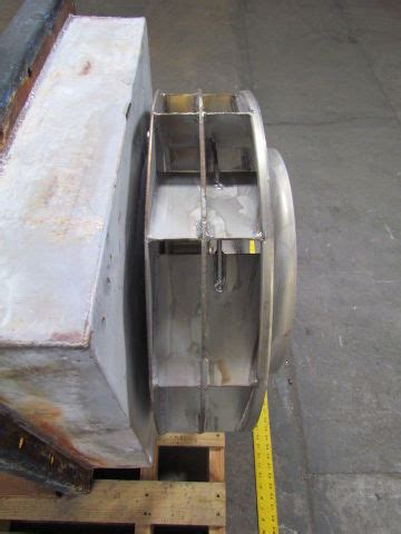 northern blower size  hp belt driven  stainless