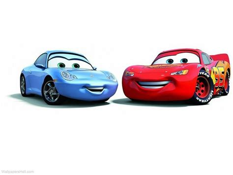 cars sally and lightning mcqueen 13x19 inch lightning mcqueen and sally disney cars poter