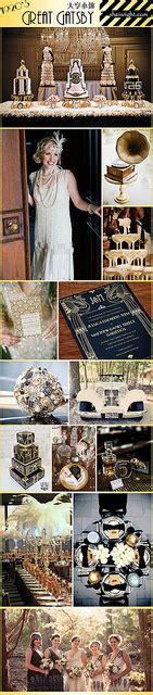 1920s great gatsby theme wedding board Wedding themes