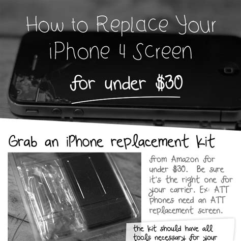 how to change iphone 4 screen how to replace an iphone 4 screen for 30 dailymilk