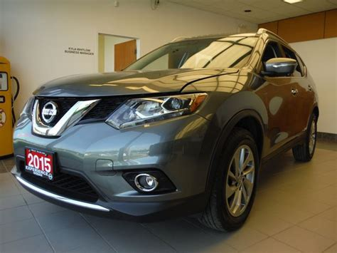 grey nissan rogue 2015 2015 nissan rogue sl grey experience nissan new car