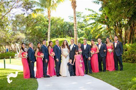 Preppy Monogrammed Wedding At The Ritz-carlton