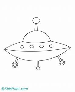 Spaceship Coloring Pages Printable