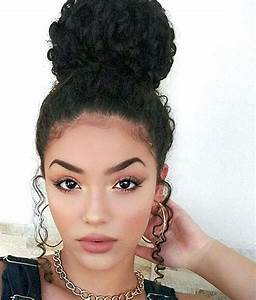 Curly Bun Hairstyles For Long Hair HairStyles