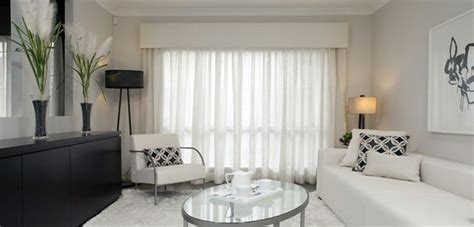padded upholstered pelmet  sheer curtains  home