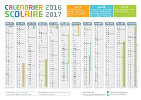 bureau en gros agenda le calendrier de l 39 ée scolaire 2016 2017 du