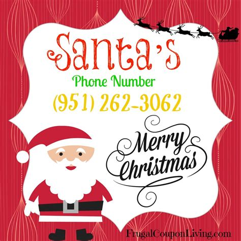 santa s real phone number santa s phone number call santa for free pin it for later