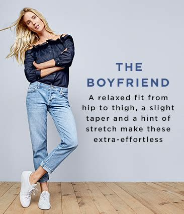 denim trouser boyfriend loft