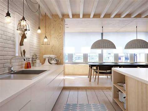 cuisine lineaire design cuisine blanche 20 idées déco pour s 39 inspirer deco cool