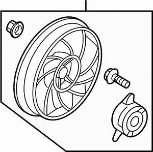 Buick Rendezvous Engine Cooling Fan Motor