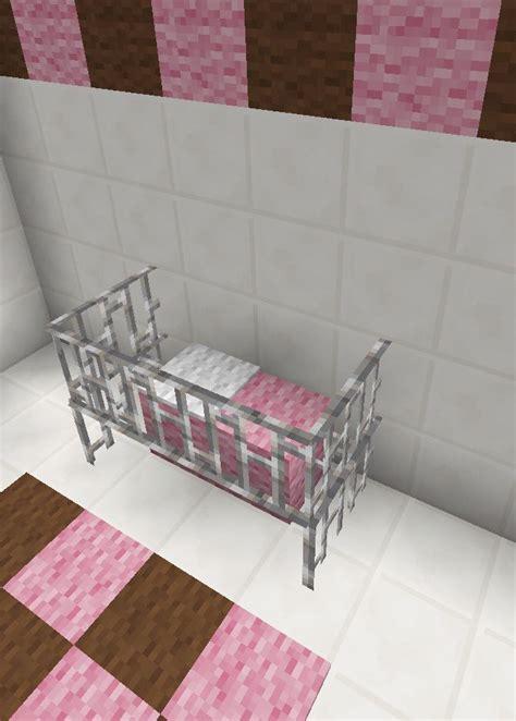 minecraft baby room bed crib furniture ad maison