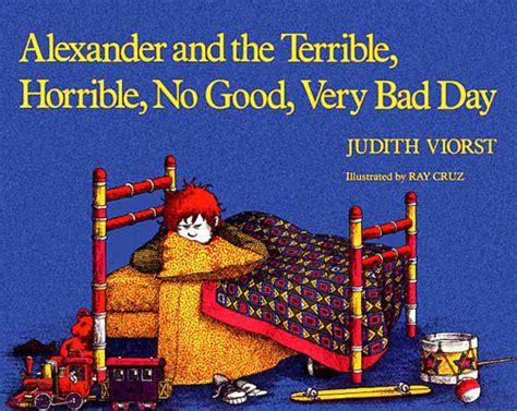 books children love alexander   terrible horrible