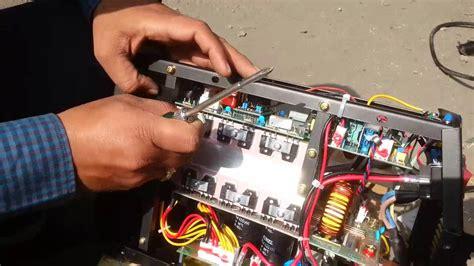 black bear  amps inverter welding machine youtube