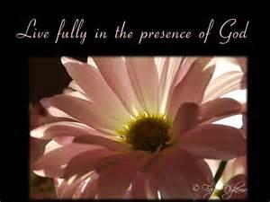 Presence of God Women