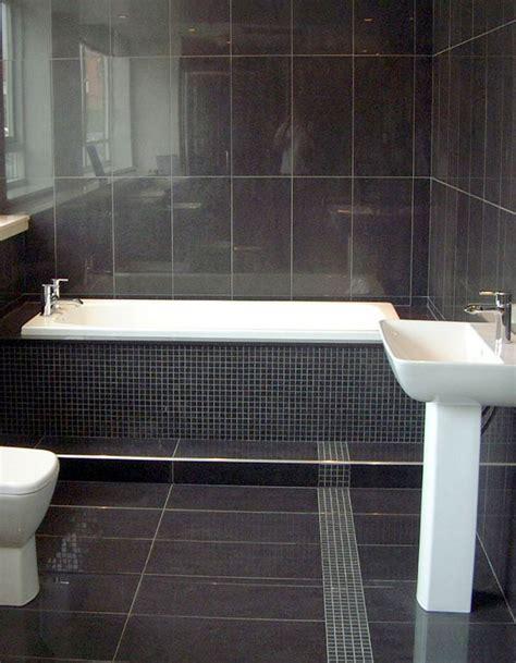 10 gorgeous bathrooms with black tile slate bathroom