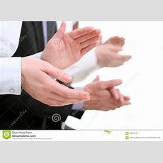 Applauding Hands Stock Image Image Of Fingernails, Congratulations 14919779