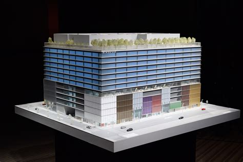 ginza  retail complex  tokyo plans april  opening