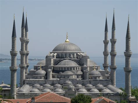 Islamic Holly Places Sultan Ahmed Mosque Blue Mosque