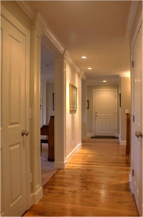 ranch renovation 1960 flooring wood hallway remodel floor interior renovationdesigngroup