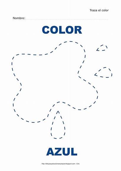Azul Dibujo Trazar Colorear Dibujos Imprimir