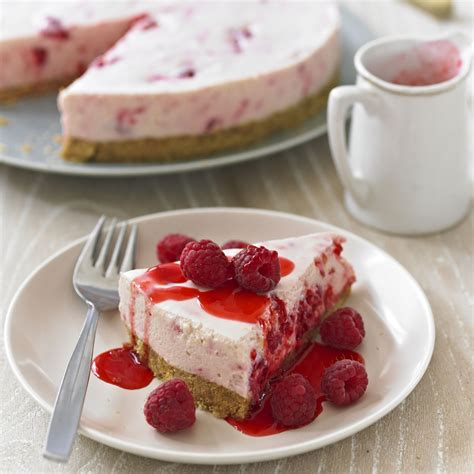 Raspberry Cheesecake  Dessert Recipes  Woman&home