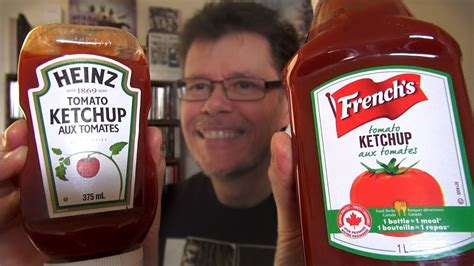 Heinz Ketchup VS French's Ketchup - Taste Test - YouTube