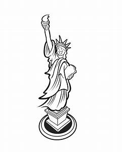 statue of liberty drawing coloring coloring pages With statue of liberty drawing template