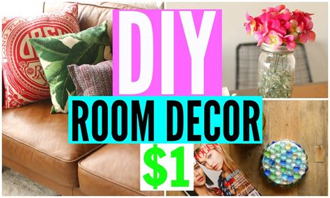 Diy Home Decor Projects And Ideas: DIY Room Decor From The Dollar Store! CHEAP Room
