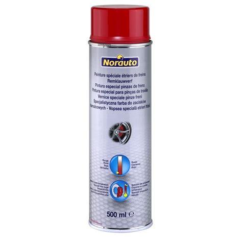 bombe de peinture voiture bombe de peinture pour freins norauto 407338 500 ml