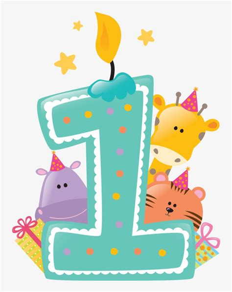 Free for commercial use no attribution required high quality images. Happy First Birthday Png Svg Free Stock - 1st Birthday ...
