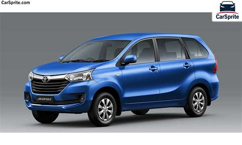 Toyota Avanza 2017 Prices And Specifications In Saudi