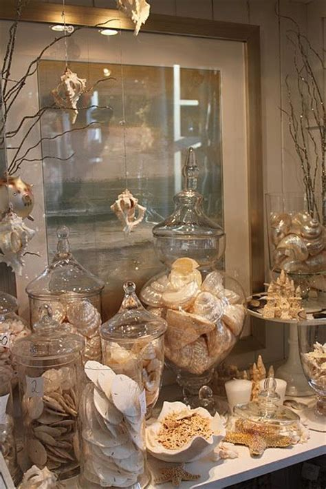 hanging shells decoration 105 best images about sea shells sand in vases on