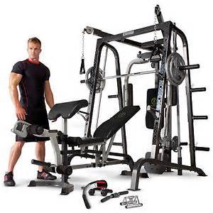 Weight Benches Ebay by Marcy Diamond Elite Md9010g Smith Machine Home Gym With