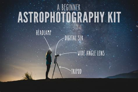 A Beginner Astrophotography Kit  Lonely Speck