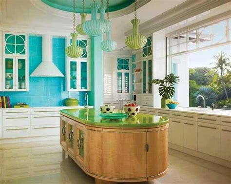 turquoise and green kitchen bright turquoise lime green kitchen kitchens i 6398